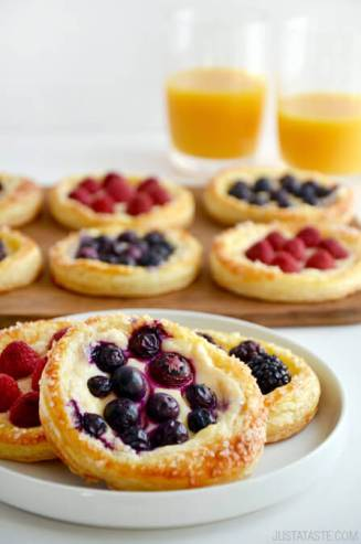 Fruit & Cheese Breakfast Pastry