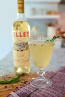 Lavender Lillet Cocktail