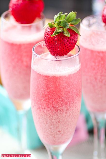 Strawberry Cream Mimosa